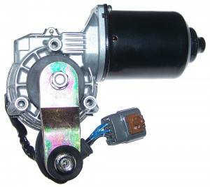 01-02 MPV Front Windshield Wiper Motor (LC63-67-340A)